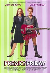 Freaky Friday Movie Poster Movie Poster
