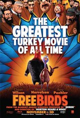 Free Birds 3D Movie Poster