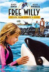 Free Willy: Escape from Pirate's Cove Movie Poster