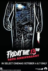 Friday the 13th - 40th Anniversary Large Poster