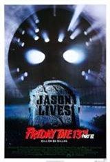 Friday the 13th, Part VI: Jason Lives Movie Poster