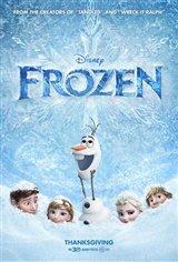 Frozen 3D Movie Poster