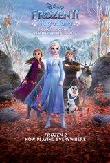 Frozen II Sing-Along Movie Poster