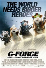 G-Force in Disney Digital 3D Movie Poster