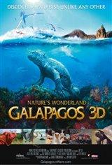 Galapagos 3D: Nature's Wonderland Movie Poster