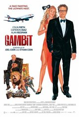 Gambit (2013) Movie Poster
