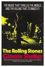 Gimme Shelter (1970) Movie Poster