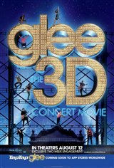 Glee: The 3D Concert Movie Movie Poster Movie Poster