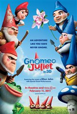 Gnomeo & Juliet 3D Movie Poster