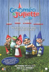 Gnomeo & Juliet 3D (v.o.a.) Movie Poster