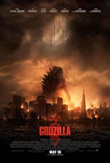 Godzilla 3D Movie Poster