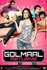 Golmaal Returns Movie Poster