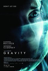 Gravity 3D Movie Poster