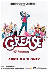 Grease 40th Anniversary (1978) presented by TCM Movie Poster