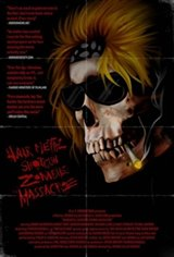 Hairmetal Shotgun Zombie Massacre: The Movie Large Poster