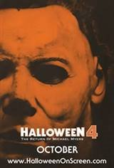 Halloween 4: The Return of Michael Myers - 35th Anniversary of Halloween Movie Poster
