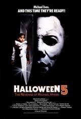 Halloween 5: The Revenge of Michael Myers Movie Poster