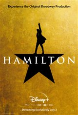 Hamilton (Disney+) Movie Poster