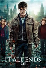 Harry Potter and the Deathly Hallows: Part 2 3D Movie Poster