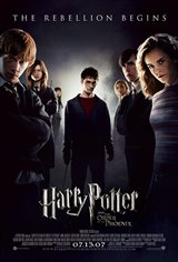 Harry Potter and the Order of the Phoenix Movie Poster Movie Poster