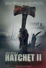 Hatchet II Movie Poster Movie Poster