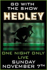 Hedley: Go With the Show Movie Poster