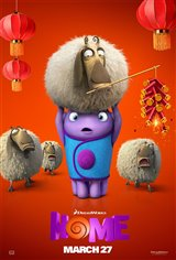Home 3D Movie Poster