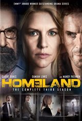 Homeland: The Complete Third Season Movie Poster Movie Poster