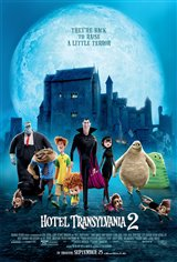 Hotel Transylvania 2 3D Movie Poster