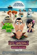 Hotel Transylvania 3: Summer Vacation 3D Movie Poster