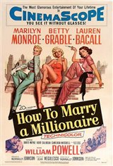 How to Marry a Millionaire Movie Poster