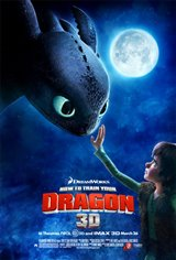 How to Train Your Dragon 3D Movie Poster
