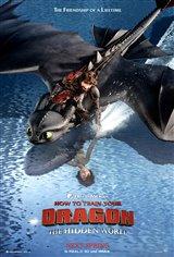 How to Train Your Dragon: The Hidden World - The IMAX Experience Movie Poster