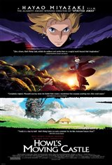 Howl's Moving Castle (Dubbed) Movie Poster Movie Poster