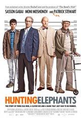 Hunting Elephants Large Poster