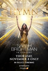 HYMN - Sarah Brightman in Concert Movie Poster