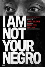 I Am Not Your Negro Movie Poster Movie Poster