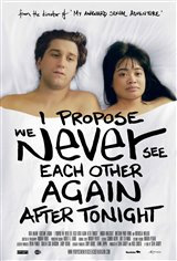I Propose We Never See Each Other Again After Tonight Movie Poster