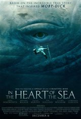 In the Heart of the Sea 3D Movie Poster