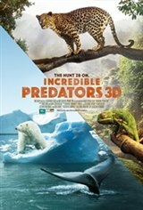 Incredible Predators 3D Large Poster
