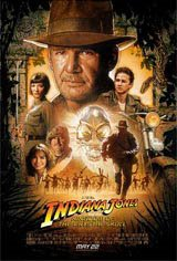 Indiana Jones et le Royaume du Crâne de Cristal Affiche de film