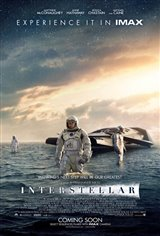 Interstellar: The IMAX Experience Movie Poster