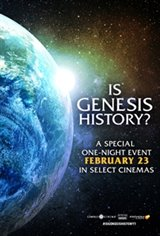 Is Genesis History? Large Poster