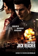 Jack Reacher: Never Go Back Affiche de film