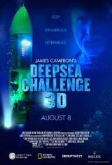 James Cameron : Défiez les fonds marins 3D Affiche de film