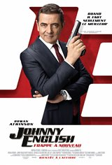 Johnny English frappe à nouveau Affiche de film