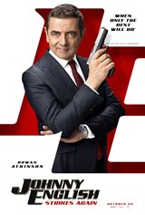 Johnny English Strikes Again Affiche de film