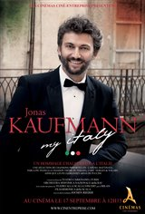 Jonas Kaufmann : My Italy Affiche de film