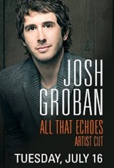Josh Groban: All That Echoes Artist Cut Large Poster