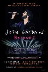 Josh Groban Bridges from Madison Square Garden Affiche de film